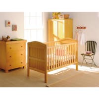 East Coast Country Antique Cot Bed