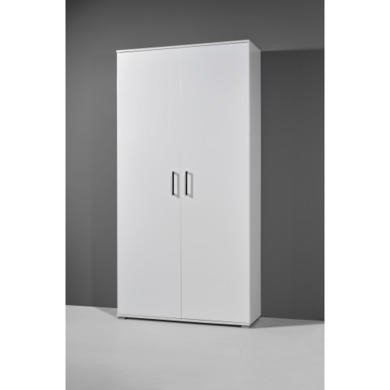 Germania White Shoe Cabinet - 40 Pairs