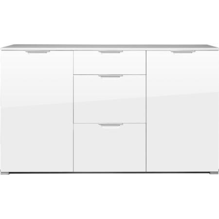 Germania event large white high gloss sideboard furniture123 for Sideboard 100 breit