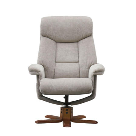 Amsterdam Swivel Massage Recliner Chair Amp Footstool In