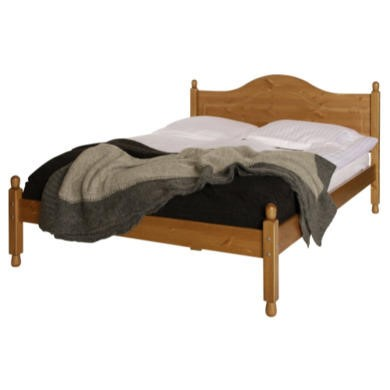 Furniture To Go Copenhagen Double Bedframe In Pine