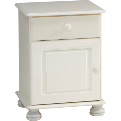 GRADE A2 - Light cosmetic damage - Steens Richmond Bedside Table 1Door/1Drawer