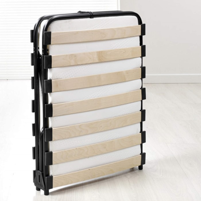 Jay Be Evo Memory Foam Folding Double Guest Bed Furniture123