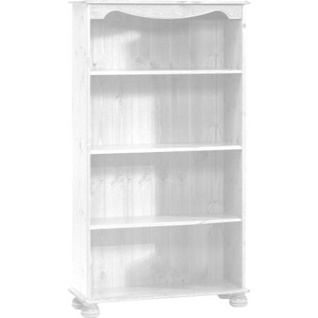 Steens Richmond 3 Shelf Bookcase In White