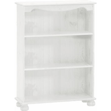 Steens Richmond 2 Shelf Bookcase In White Furniture123