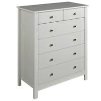 Furniture To Go Florence 4+2 Drawer Chest in White