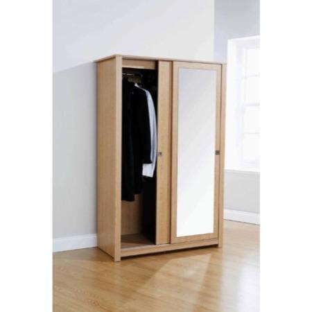 Mountrose Oakdale 2 Door Sliding Wardrobe With Mirror In