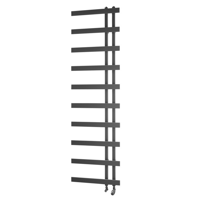 Horton Anthracite Heated Towel Rail - 1800 x 500mm