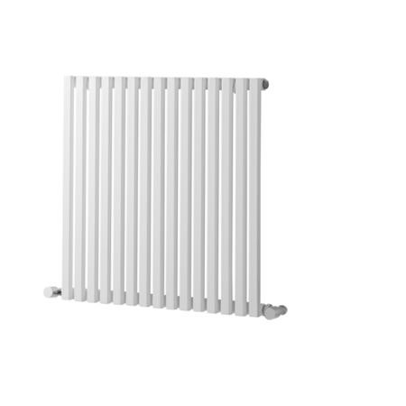 600mm x 1190mm White Towel Rail - Oxfordshire Range