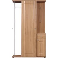 Germania Compact Wardrobe in Beech