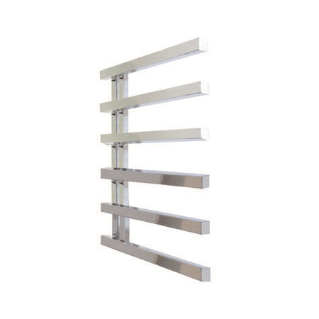 795mm x 500mm Chrome Towel Rail - Soho Range