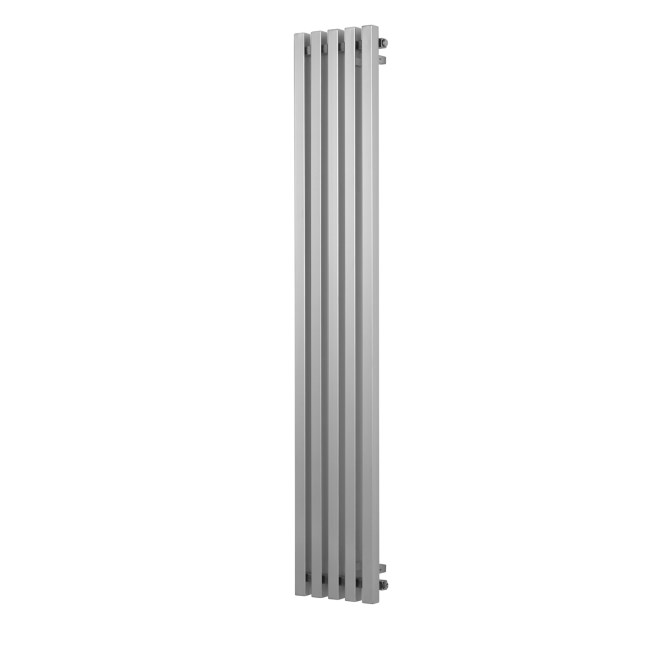 Soho Chrome Single Panel Vertical Radiator - 1800 x 405mm