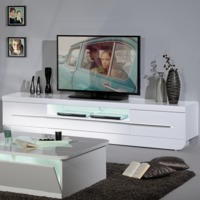 GRADE A2 - Skylight Floyd 36 High Gloss TV Cabinet