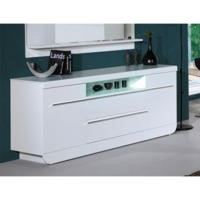 Sciae Skylight Floyd 36 High Gloss Sideboard In White