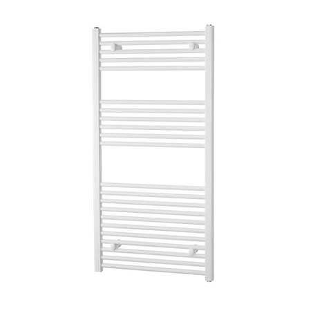 691mm x 450mm  White Thermostatic Towel Rail - Richmond Range