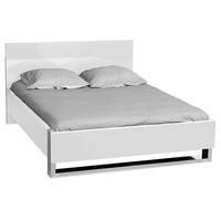 Sciae Sunrise 36 Double Bed in White High Gloss