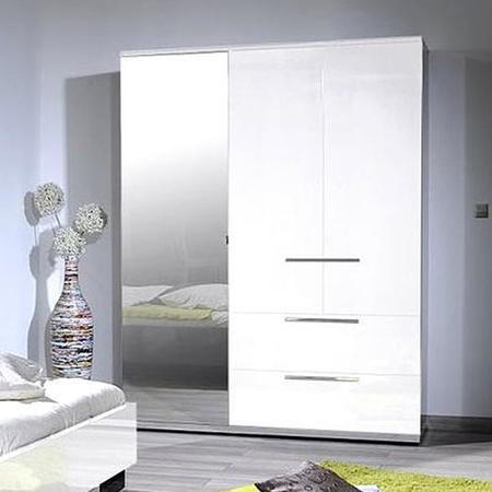 Schlafzimmerschrank Wei