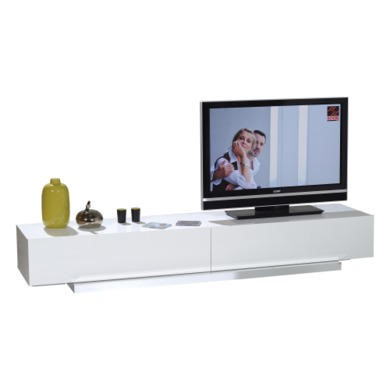 Sciae Volta2 High Gloss White TV Cabinet