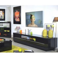 Sciae Floyd 38 TV Hifi Unit In Black