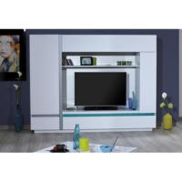 Sciae Cross 36 Wall Unit in High Gloss White