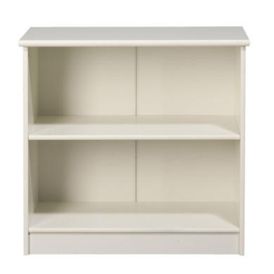 Furniture To Go Kids World Low Bookcase In White
