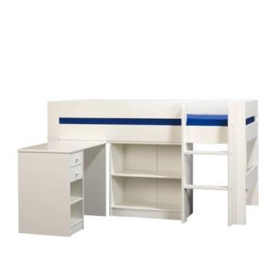 Furniture To Go Kids World Mid Sleeper In White