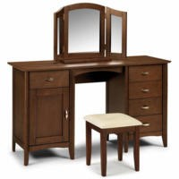 GRADE A1 - Julian Bowen Minuet Wenge Dressing Table
