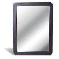 GRADE A1 - Signature North  Retro Dark Oak Large Wall Mirror