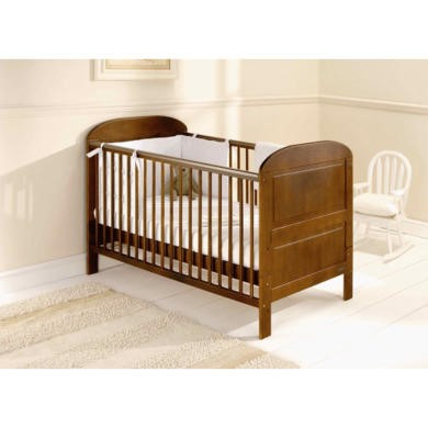 East Coast Angelina Cot Bed in Cocoa