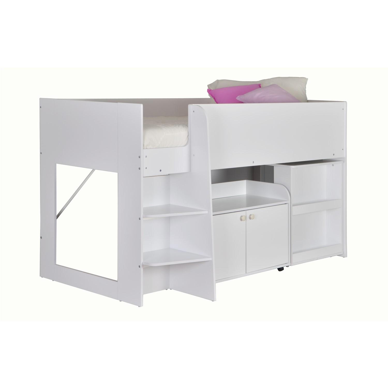 Seconique Astro Bunk Bed In White Furniture123