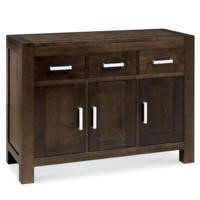 Bentley Designs Lyon Walnut Small Sideboard