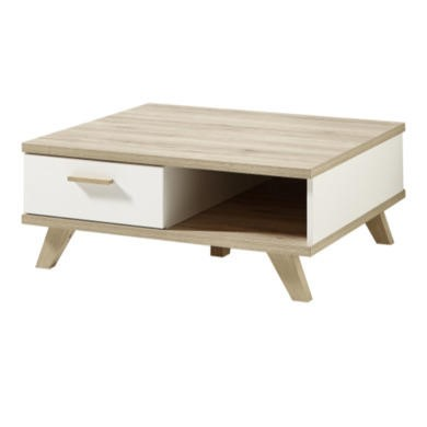 Germania Oslo White and Oak Coffee Table