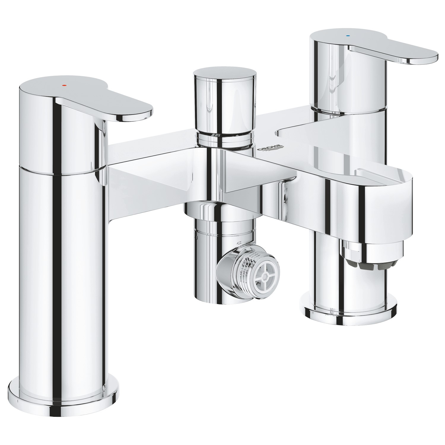 Grohe BauEdge Deck Mounted Bath Shower Mixer Tap