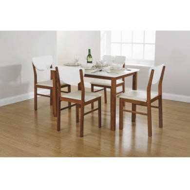 Mountrose Lincoln 5 Piece Dining Set In Baltic Pine