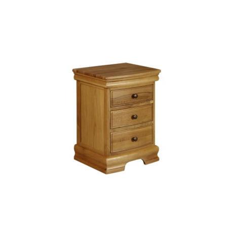 GRADE A2 - Wilkinson Furniture Rennes Solid Oak 3 Drawer Dressing ...