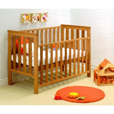 East Coast Bamboo Dropside Cot Bed
