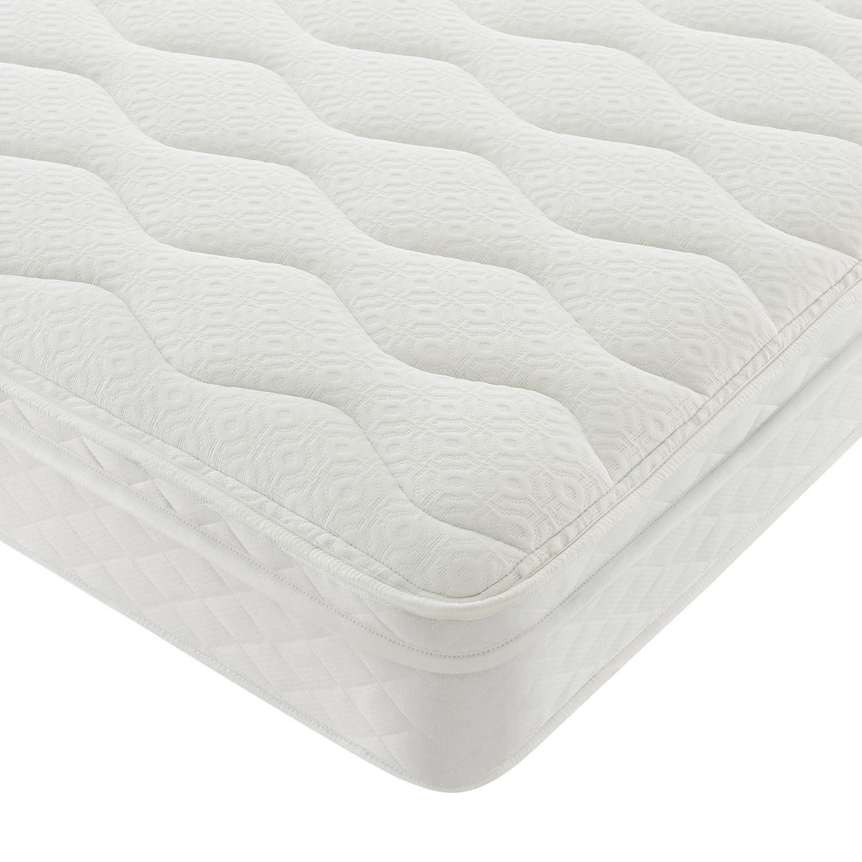 Silentnight Charlotte Double Memory Cushion Top Microquilt Mattress