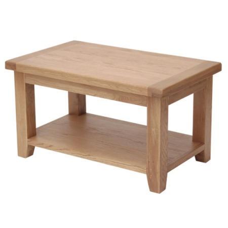 Furniture link hampshire oak small coffee table furniture123 for Furniture 123