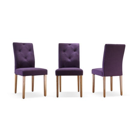 Wilkinson Furniture Italia Aubergine Dining Chair   Pair