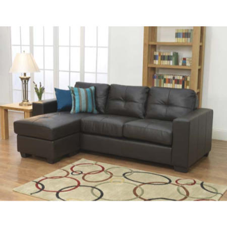Clearance gemona corner sofa in brown as new for Furniture 123 code