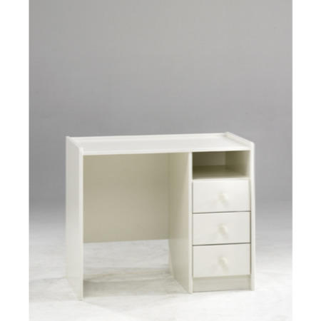 steens for kids 3 drawer desk in white furniture123. Black Bedroom Furniture Sets. Home Design Ideas