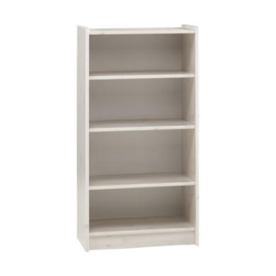 Steens  For Kids Tall Bookcase In Whitewash