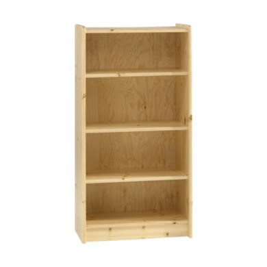 steens for kids tall bookcase in pine furniture123. Black Bedroom Furniture Sets. Home Design Ideas