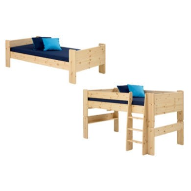 steens for kids extension kit single bed to mid sleeper. Black Bedroom Furniture Sets. Home Design Ideas