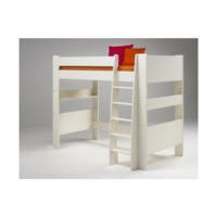 Steens  For Kids Continental Single Highsleeper In White
