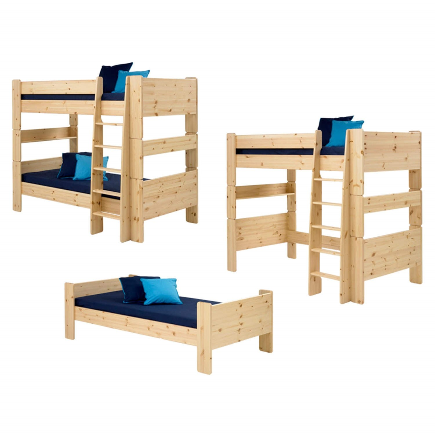 Steens For Kids Extension Kit Bunk To Single And High Sleeper In