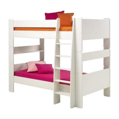 Steens  For Kids Continental  Single Bunk Bed In White
