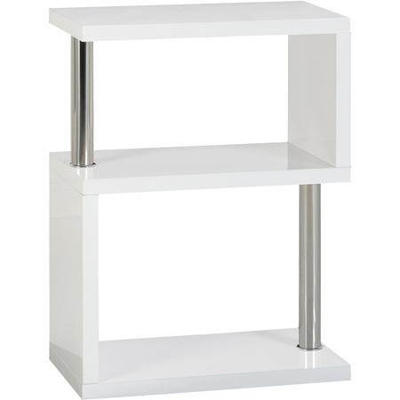 Seconique Charisma lamp table in White Gloss