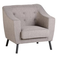 Seconique Ashley Upholstered Beige Chair
