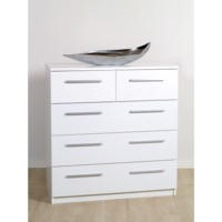 Furniture To Go Designa 3+2 Chest Of Drawers In White Ash